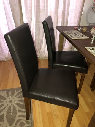 Dining table with 4chairs