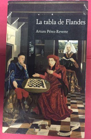 La tabla de Flandes, Arturo Pérez Reverte