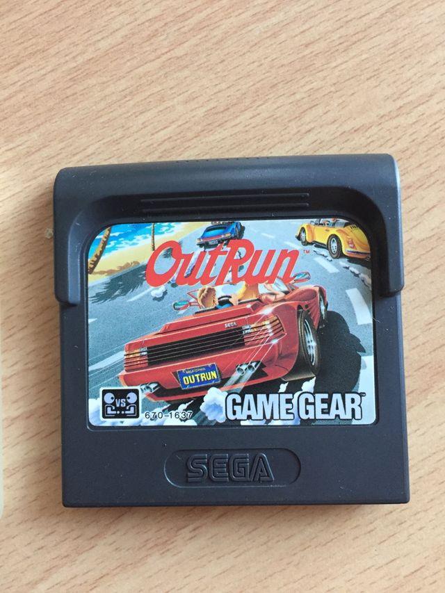 Sega Game Gear Outrun