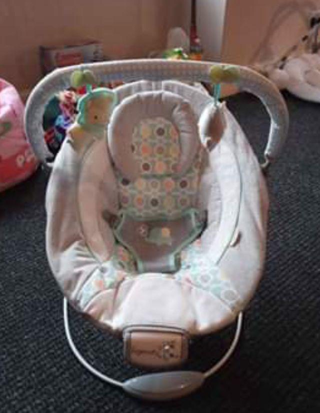 unisex baby bouncer