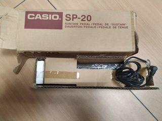 pedal casio SP20
