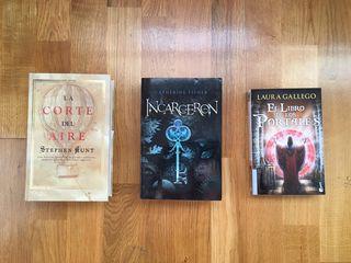 Lote libros Narrativa Juvenil Fantasía/Maravilloso