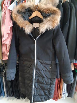 Plumifero abrigo mujer