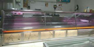 mostrador cámara frigorifica carnicería