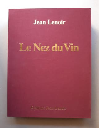 Libro con 54 aromas Le Nez du Vin EDICION 1998