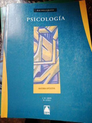psicología 1 bachillerato