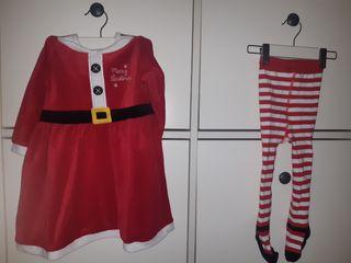 Vestido navidad mama noel