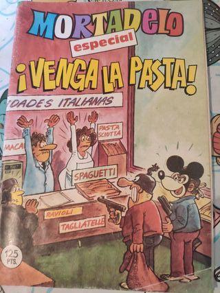 Comics antiguo de Mortadelo y Filemón