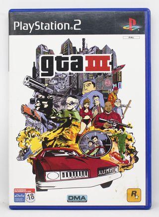 GTA III PlayStation 2 PAL España