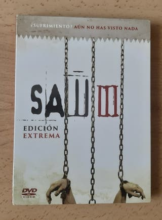 Saw III - DVD, edición DigiBook.
