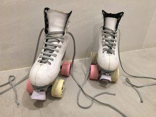 Patines 4 ruedas para patinaje artistico
