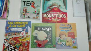 7 libros infantiles en muy buen estado (3/6 años)