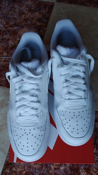 zapatillas nike blancas hombre