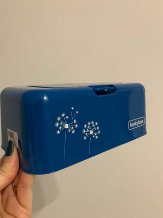 Funkybox caja portatoallitas azul intenso