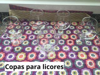 Copas para licores