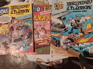 comic antigüos de Mortadelo y Filemón