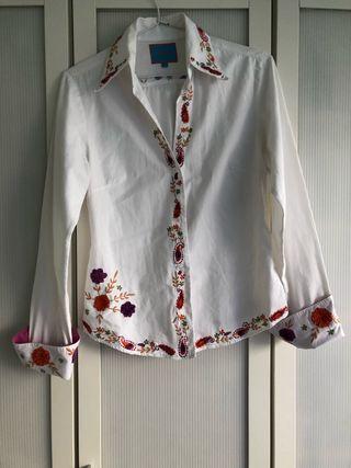 Camisa bordada marca Flamenco