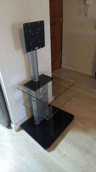 Mesa Soporte Cristal para TV plana