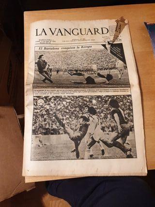 Periódico la Vanguardia 17 de Mayo de 1979