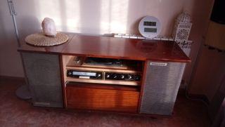 Mueble radio tocadiscos roselson