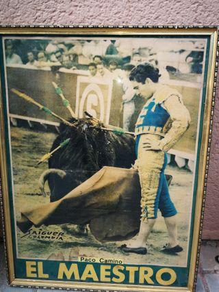 cartel de toros de paco camino