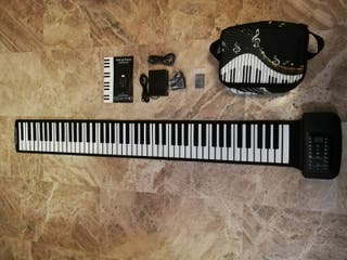 Piano enrollable 88 teclas