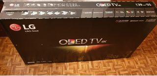 TV LG OLED 55 PULGADAS NUEVA CON FACTURA DE AMAZON