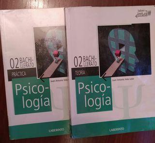 Libro Psicóloga 2 bachillerato.