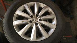 """Llantas aluminio 17 """" Volkswagen tiguan"""