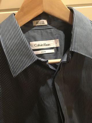 Camisa Vestir Calvin Klein (A estrenar)