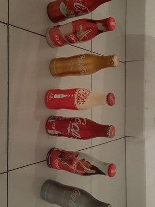 botellas coca cola aluminio
