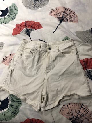 Shorts blancos talla 38 de Pull&Bear