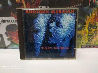 CD heavy metal shotgun messiah