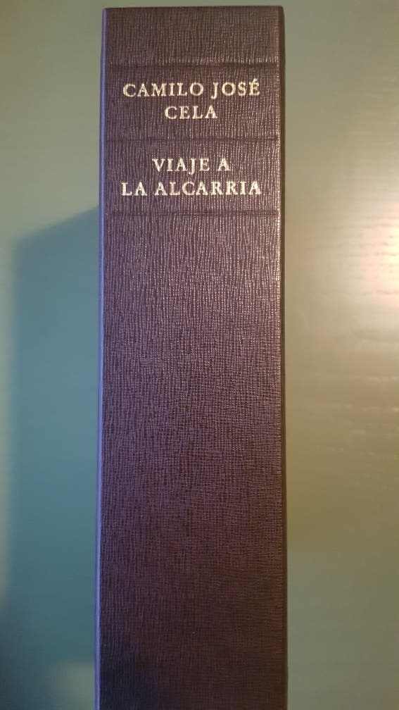 Edición facsimilar de VIAJE A LA ALCARRIA