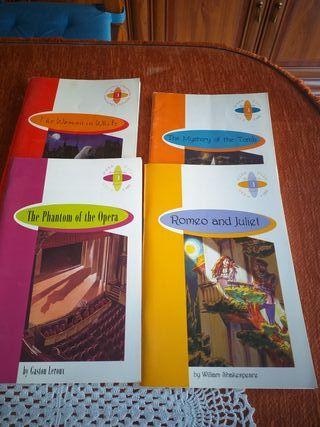 Libros en inglés ESO y Bachillerato