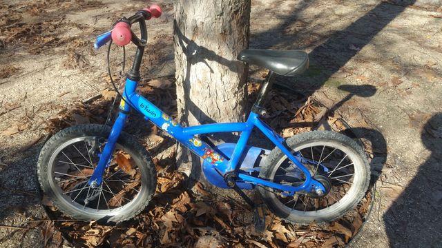 Bicicleta niños 4 a 6 años. Rueda 16'