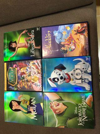 Películas dvd pack 6