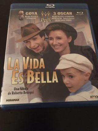 """Película """"la vida es bella"""" en Blu-ray"""