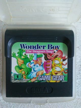Wonder Boy The Dragon's Trap de GameGear