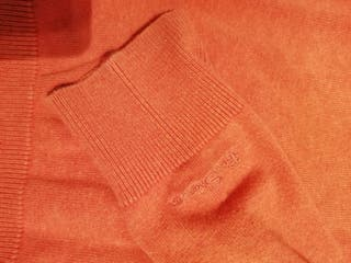 jersey de hombre Ben Sherman naranja talla S