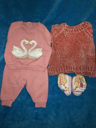 Conjunto ropa de bebé