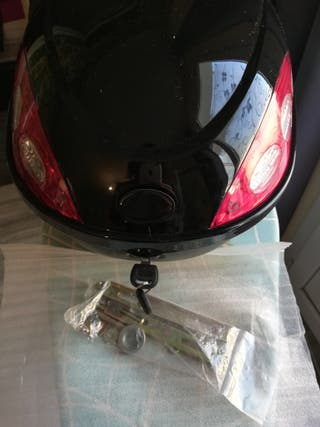 Top case baul maleta moto p/ casco JET MUY PEQUEÑO