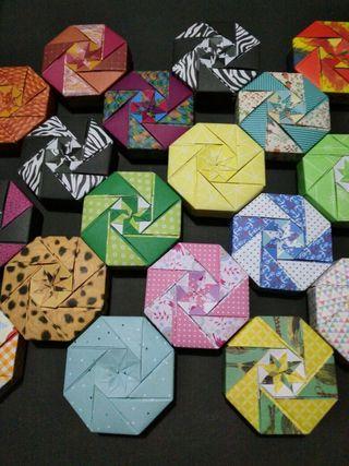 Cajas de origami (souvenir)