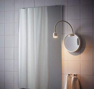 Espejo con luz LED Ikea