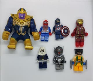 Figuras tipo lego Superheroes Avengers Marvel