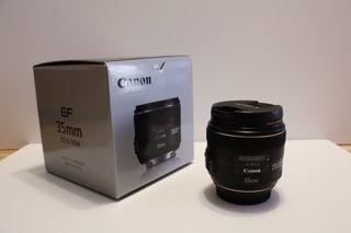 Pack objetivo CANON 35mm f/2