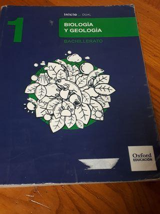 Libro Biología y Geología 1 bachillerato.