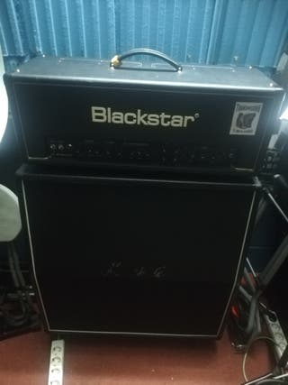 cabezal válvulas blackstar+Harley Benton 4x12