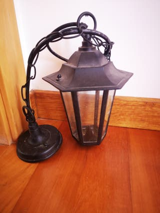 lámpara de exterior