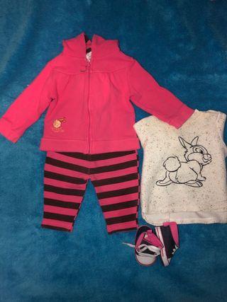 Conjunto de ropa bebé
